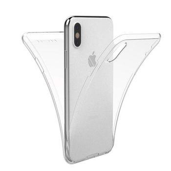 купить Чехол Senno PC+TPU 360 Iphone XS Max ,Transparent в Кишинёве