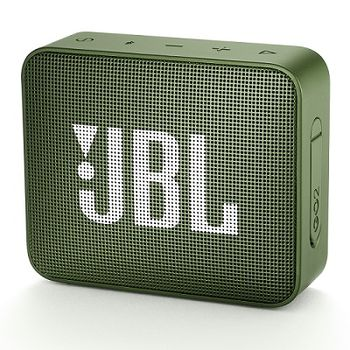JBL Go 2 Green / Bluetooth Portable Speaker, 3W (1x3W) RMS, BT Type 4.1, Frequency response: 180Hz – 20kHz, IPX7 Waterproof, Speakerphone, 730mAh rechargeable Lithium-ion battery,  3.5 mm jack audio input, Battery life (up to) 5 hr