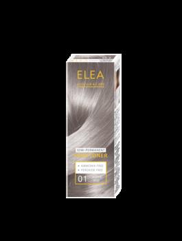 Balsam nuanțător, SOLVEX Elea Hair Toner, 100 ml., 01 - Argintiu mat