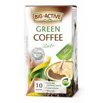 купить Big-Active  LK Green Coffee 2in1 (Slim&Detox)  10*12g в Кишинёве