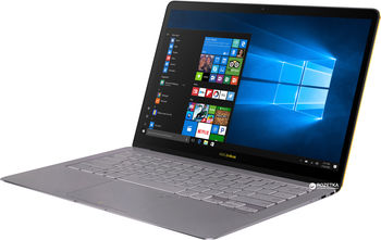 "купить ""NB ASUS 14.0"""" Zenbook 3 Deluxe UX490UA Grey (Core i5-8250U 8Gb 512Gb Win 10) 14.0"""" Full HD (1920x1080) Glare, Intel Core i5-8250U (4x Core, 1.6GHz - 3.4GHz, 6Mb), 8Gb (OnBoard) PC3-14900, 512Gb M.2, Intel HD Graphics, 802.11ac, Bluetooth, 1x USB 3.1 Type C, 2x Thunderbolt 3 USB Type C, Webcam, Windows 10 Home RU, 4-cell 46 WHrs Polymer Battery, Illuminated Keyboard, 1.1kg, Grey; Mini Dock + Protective sleeve"" в Кишинёве"