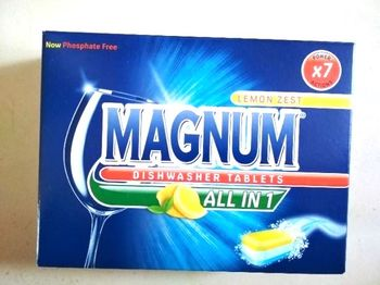 Таблетки для посуды Magnum 40шт