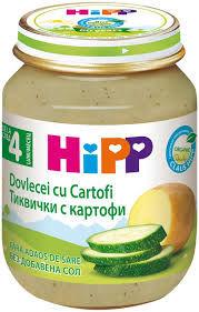 купить Hipp пюре цукини и картофель, 5+мес. 125г в Кишинёве