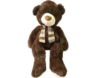 Игрушка мягкая Медведь с шарфом 135cm