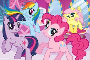 "14182 Trefl Puzzles-""24 Maxi"" - Frendship is a magic / Hasbro My Little Ponny"