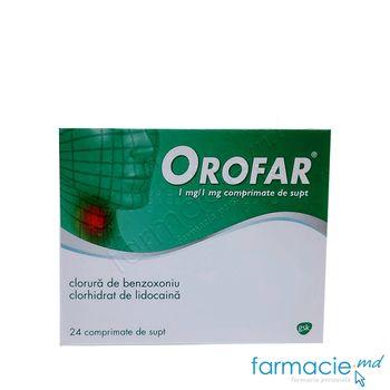 купить Orofar® comp.de supt 1 mg/1 mg  N8x3 в Кишинёве