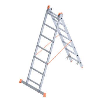 купить Лестница алюминиевая Sarayli Double Type A 2x7 в Кишинёве