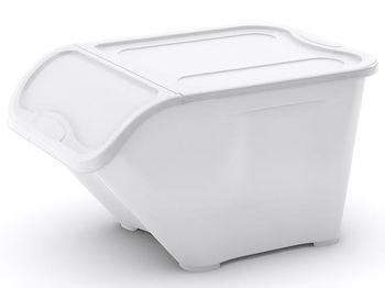 Контейнер для хранения L 40l, 54.5X38.5X32cm, белый