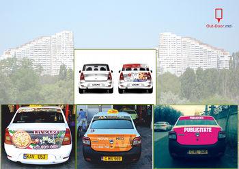 купить Publicitate pe spatele la Taxi ( 20 ex.) в Кишинёве