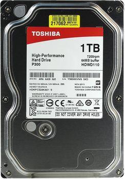 """купить Жесткий диск 3.5"""" HDD 1.0TB  Toshiba HDWD110UZSVA  P300, for Desktop, 7200rpm, 64MB, SATAIII в Кишинёве"""