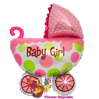 """купить Фольгированная Коляска  """"It's a Boy""""/ """"It's a Girl"""" в Кишинёве"""