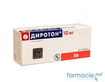 купить Diroton comp. 10 mg N14x4 в Кишинёве