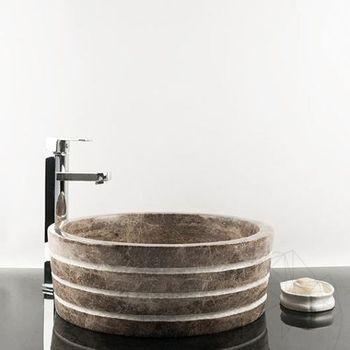 купить Раковина для ванной Мрамор Dark Emperador RS-42, 41,5 x 15 см в Кишинёве