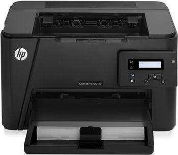 Printer HP LaserJet Pro M201dw Printer, A4, 1200 dpi, up to 25 ppm, 128MB, Duplex, Up to 8000 pages/month, USB 2.0, Ether 10/100, WiFi 802.11 b/g/n, PCL 5c, PCL 6, Postscript, HP ePrint, Apple AirPrint™, Wi-Fi direct printing, CF283A Cartridge (~1500