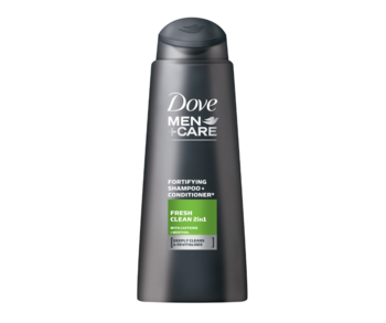 купить Шампунь Dove Men Fresh Clean 2in1, 400 мл в Кишинёве