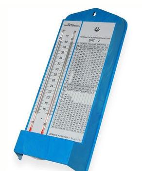 купить Гигрометр психрометрический ВИТ-2, с сертификатом РМ для помещений в Кишинёве