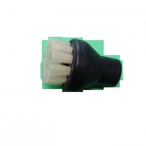 Насадка-щетка со щетиной из нейлона белая,  диам. 20 мм. Комплект из 3 штук