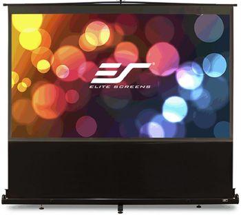 "Elite Screen 80""(16:9) 100,1x177.8cm ez Cinema Series Telescoping Pull Up Series, Black"