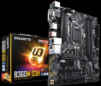 cumpără Placă de bază GIGABYTE  B360M D3H în Chișinău