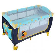 Кроватка туристическая с комплектом принадлежностей Тукан
