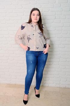 купить Блузка Simona ID 9653 в Кишинёве