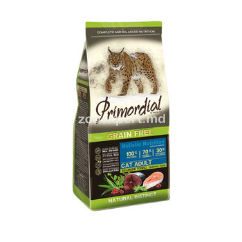 купить Primordial Holistic Cat Adult лосось и тунец 1 kg ( развес ) в Кишинёве