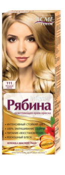 Краска для волос, ACME Рябина Intense, 100 мл., 111 - Мокрый песок
