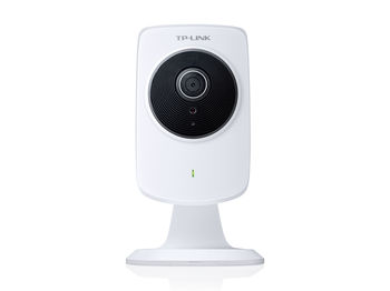 TP-LINK NC220, N150 Wireless Megapixel Daily/Night Cloud Camera, Advanced Megapixel CMOS Sensor (640 x 480), F:2.8, f: 3.85mm, Digital Zoom 4x, 1-way audio, H.264, Mobile View, LAN Port, WiFi