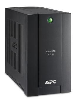 APC Back-UPS BC750-RS 750VA/415W, 230V, (3+1) Schuko CEE, CIS