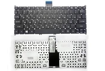 Keyboard Acer Aspire S3-391 S3-951 S5-391 S5-951 V5-121 V5-122 V5-123 V5-131 V5-132 V5-171 V3-371 V3-111 E3-111 One 725 756 w/o frame ENG/RU Black