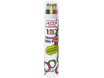 Набор карандашей цветных 12шт в тубе