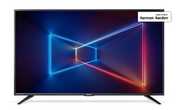 "65"" LED TV SHARP LC-65UI7552E, Black, 3840x2160 (4K), SmartTV (Aquas NET+), Wifi+Lan, Active Motion 400, HDR, ACE PRO ULTRA Engine, Harman Kardon, RMS 2x10W, HDMIx3, USBx3, SD Card slot, DVB-T2/C/S2/CI+, RF RC, Vesa 200x200"