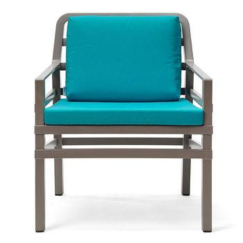 Кресло с подушками Nardi ARIA TORTORA sardinia 40330.10.072.072 (Кресло с подушками для сада и терас)