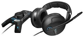 ROCCAT Kave XTD 5.1 Digital / Premium 5.1 Surround Headset with USB Remote & Sound card, Noise-cancelling Microphone (detachable with mute LED), Dual-mode Remote, Real 5.1 Surround sound, Inbuilt Multi-Channel Sound card, BLUETOOTH pairing, USB