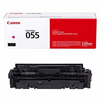 Laser Cartridge Canon 055 (3014C002), magenta (2100 pages) for MF742Cdw, MF744Cdw, MF746Cx, LBP663Cdw, LBP664Cx