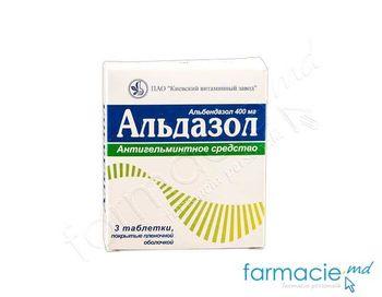 купить Aldazol comp.film. 400mg N3 в Кишинёве