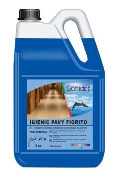 IGIENIC PAVY FIORITO (5KG) Концентрированное моющее средство для мытья полов