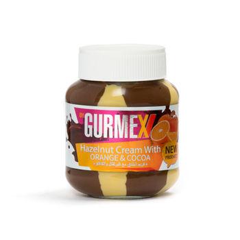 Шоколадная паста с  лесными орехами и апельсином Gurmex 350г