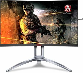 "27.0"" AGON VA LED AG273QX Curved Bordless Black (1ms, 3000:1, 400cd, 2560x1440, 178°/178°, DisplayHDR 400, 165Hz Refresh Rate, DisplayPort x 2, HDMI x 2, Speakers 2 x 5W, Audio Line-in/out, Height Adjustment, USB Hub: 4 x USB3.2, Pivot, VESA)"