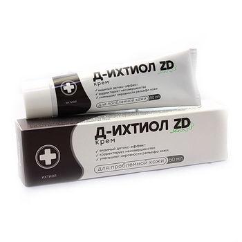 ZD Д-Ихтиол Крем для лица 50 гр.