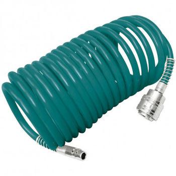 Шланг пневматический спиральный 15m THT11151 TOTAL