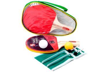 Набор для настольный тенниса (2 ракетки, сетка, 2 шарик