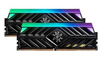 .8GB DDR4-3200MHz  ADATA XPG Spectrix D41 TUF Gaming Alliance Edition, RGB, CL16-18-18, 1.35V, Black