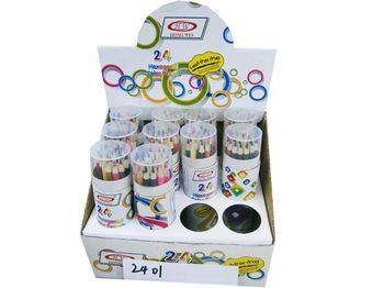Set creioane colorate 24buc In tub