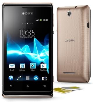 Sony Xperia E (C1605) 2 SIM (DUAL) Gold