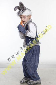 Карнавальный костюм: Зайчик серый