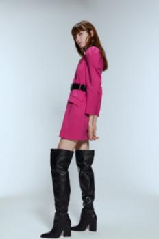 Платье ZARA Фуксия 8469/250/630