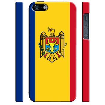 Чехол для iPhone 5/5S Флаг Молдовы