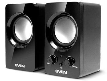 """купить Speakers  SVEN """"354"""" Black, 4w в Кишинёве"""