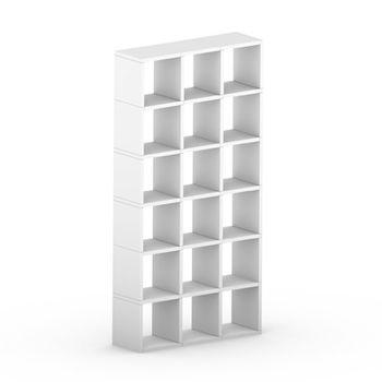 cumpără Etajeră Boon 2180x1100x330 mm,alb în Chișinău